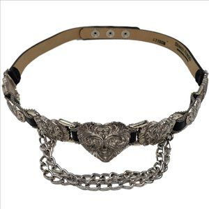 STREETS AHEAD Statement Belt Hearts Chains 47100M